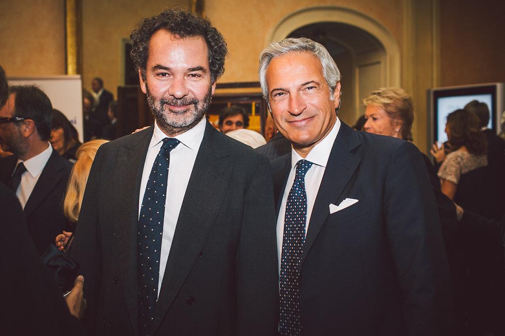 Remo Ruffini e Paolo Veronesi