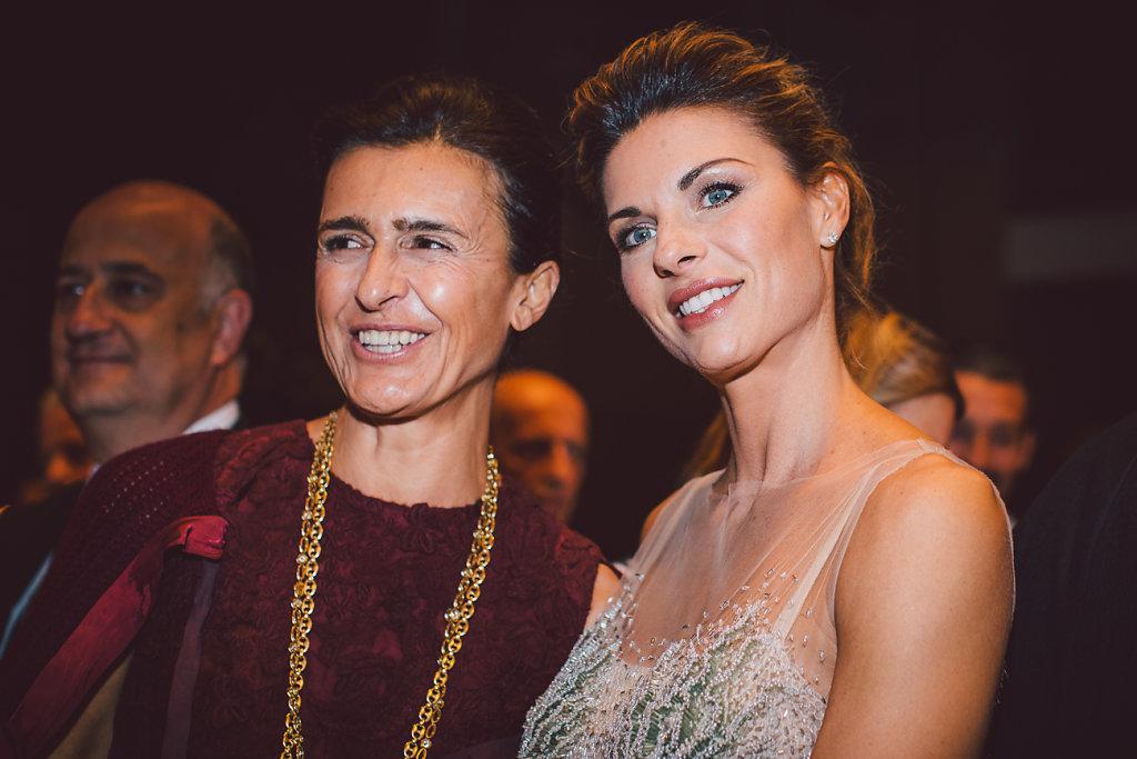 Francesca Ruffini e Martina Colombari